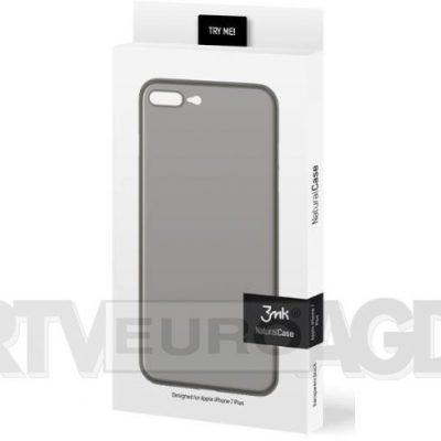 3mk Natural Case iPhone 7 Plus czarny 3MKNATURALCASE 44