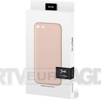 3mk Natural Case iPhone 7 różowy 3MKNATURALCASE 48