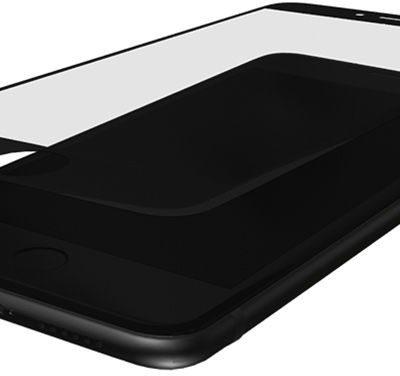 3MK Szkło hartowane HardGlass MAX czarny do iPhone 7