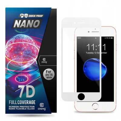 7D Glass Szkło hybrydowe iPhone SE/2020/8/7/6s/6