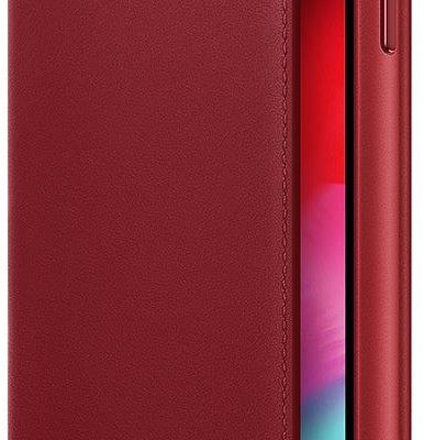 Apple Apple iPhone XS Max Leather Folio Product Red (MRX32ZM/A)
