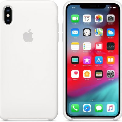 Apple Apple iPhone XS Max Silicone Case White (MRWF2ZM/A)