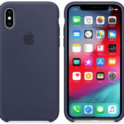 Apple Apple iPhone XS Silicone Case Midnight Blue (MRW92ZM/A)