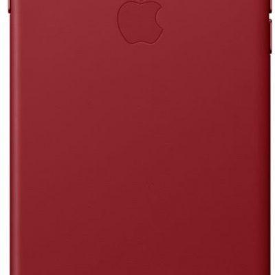 Apple Obudowa dla telefonów komórkowych Leather Case pro iPhone 8 Plus 7 Plus PRODUCT)RED MQHN2ZM/A) Czerwony
