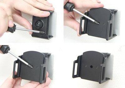 Apple Uchwyt uniwersalny pasywny do iPhone 11 Pro w futerale lub etui o wymiarach: 62-77 mm (szer.), 12-16 mm (grubość)