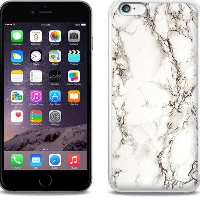 Etuo.pl Fantastic Case - Apple iPhone 6s Plus - etui na telefon Fantastic Case - biały marmur ETAP231FNTCFC028000