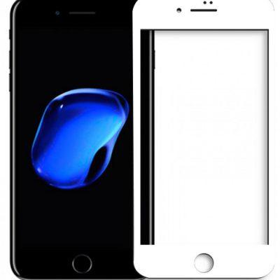 Etuo.pl Nillkin - Apple iPhone 8 Plus - szkło hartowane Nillkin Amazing AP+ 3D Pro - białe FOAP610NL3DWHT000