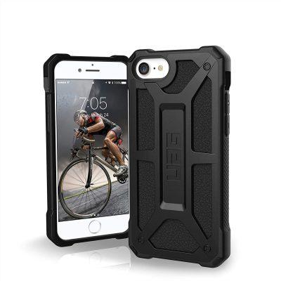 Gear Urban Armor Urban Armor Monarch Etui Pancerne do iPhone SE (2020) / iPhone 8 / iPhone 7 / iPhone 6S / iPhone 6 (Black) 112041114040