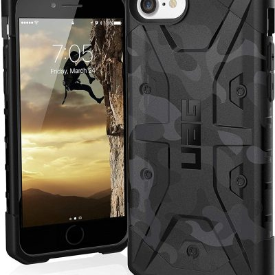 Gear Urban Armor Urban Armor Pathfinder SE Etui Pancerne do iPhone SE (2020) / iPhone 8 / iPhone 7 / iPhone 6S / iPhone 6 (Black) 112047114061