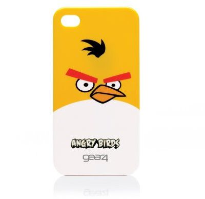 Gear4 Angry Birds etui ochronne do Apple iPhone 4 Żółty