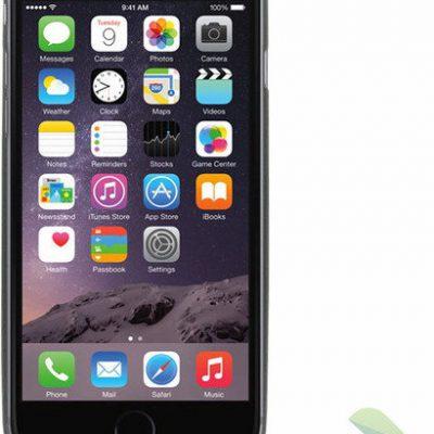 Geffy Etui iPhone 6 Slim cover Black GF-IPH64Q421801