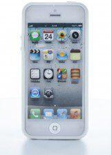 Geffy Etui iPhone SE / iPhone 5s / iPhone 5 bumper TPU/PVC white 10_4244