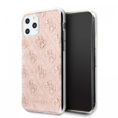 Guess 4G Glitter Etui iPhone 11 Pro Max Pink) 10_15330