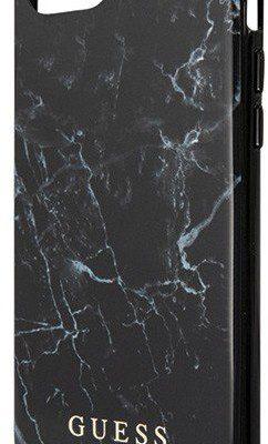 Guess GUHI8PCUMABK iPhone 7/8 czarny/black Marble GUE455BLK