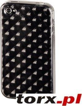 Hama iPhone 4 Etui Tył. Srebrne Kryształ 104597
