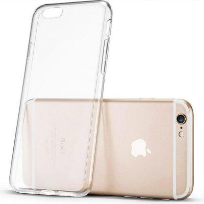 Hurtel Hurtel Żelowy pokrowiec etui Ultra Clear 0.5mm iPhone 6S 6 przezroczysty