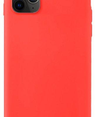 Hurtel Silicone Case elastyczne silikonowe etui pokrowiec iPhone 11 Pro czerwony