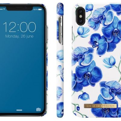 iDeal of Sweden Fashion Case Baby Blue Orchids do iPhone Xs Max (IEOIDXMBBO)