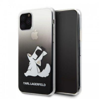 Karl Lagerfeld Choupette Fun Sunglasses - Etui iPhone 11 Pro (czarny)