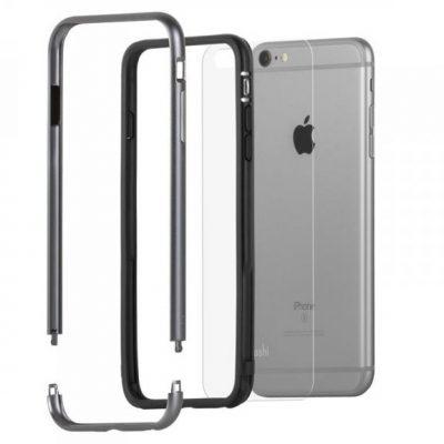 Moshi iGlaze Luxe Aluminiowy Bumper iPhone 6 Plus/6s Plus (Titanium Grey) 99MO (99MO080204)