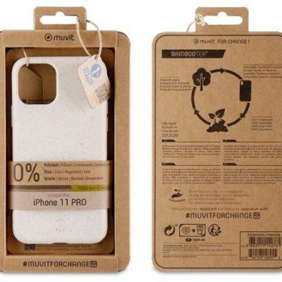 Muvit Etui Bambootek do iPhone 11 Pro beżowe