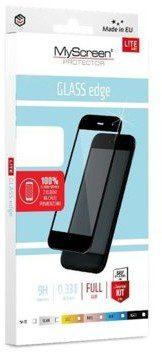 MyScreenProtector Protector Protector Szkło ochronne LiteGlass Edge FullGlue Apple iPhone 6/S czarne (PROGLAFULGAPIP6C)