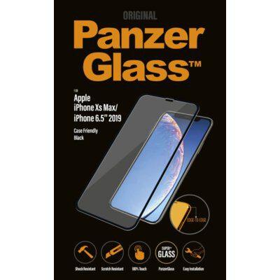 PanzerGlass Szkło do etui iPhone 11 Pro Max, Xs Max, czarne 5711724026669