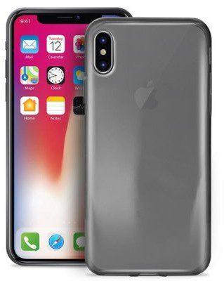 PURO 0.3 Nude do iPhone 8 Czarny Przezroczysty (IPCX03NUDEBLK)