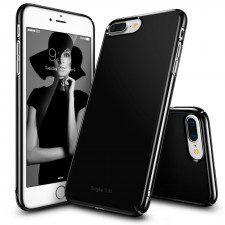 Rearth Etui Ringke Slim iPhone 7 Plus, czarny połysk + folia