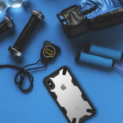 Ringke Etui Ringke Fusion-X iPhone XS 5.8 Czarne RGK755BLK