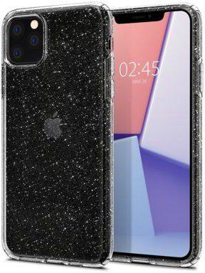 Spigen Etui Liquid Crystal Glitter do Apple iPhone 11 Pro Max Przezroczysty