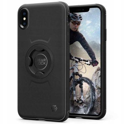 Spigen Gearlock Gearlock Bike Mount Case do iPhone XS/X czarny (CF101)