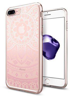 Spigen SGP Liquid Crystal Shine Pink Etui iPhone 7 Plus LIQUID SHINE PINK IP7+