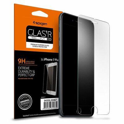 Spigen Szkło Hartowane Glas.tR Slim iPhone 7 Plus 043GL20608