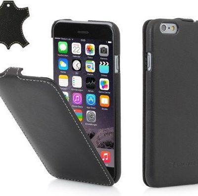 StilGut Etui na Apple iPhone 6 UltraSlim, black nappa B00N0MTAF6