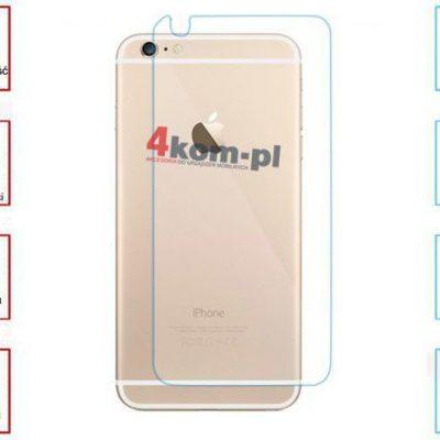 Szkło hartowane na plecki do iPhone 6 plus 722