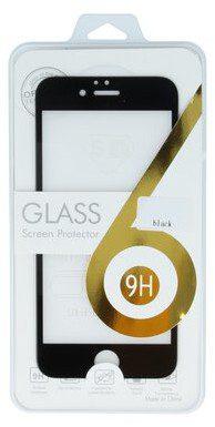 TelForceOne Szkło hartowane Tempered Glass 5D do iPhone 6 iPhone 6s czarna ramka