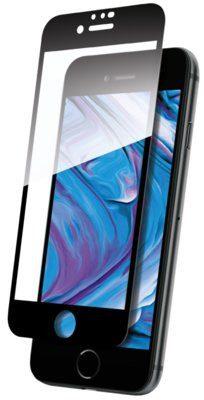 THOR Szkło hartowane Edge to Edge do Apple iPhone 6/6S/7/8/SE 2020 Czarny