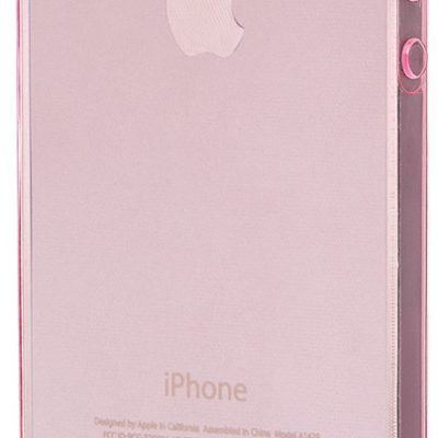 TTEC SuperSlim Etui iPhone 5/5S/SE różowe 2PNS2002P)