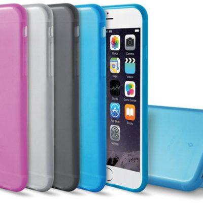 TTEC SuperSlim Etui iPhone 6 Plus/6S Plus szare 2PNS46F)