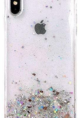 Wozinsky Star Glitter błyszczące etui pokrowiec z brokatem iPhone 8 Plus / iPhone 7 Plus przezroczysty