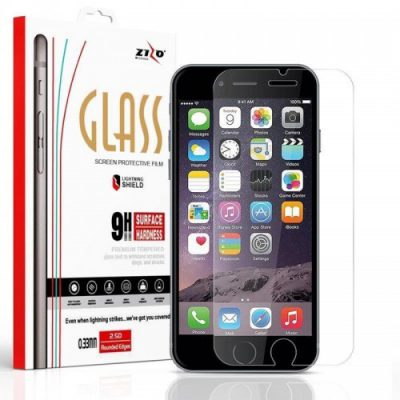 Zizo Zizo Lightning Shield - Hartowane szkło ochronne 9H, 0.33 mm na ekran iPhone X LSHD-IPH8